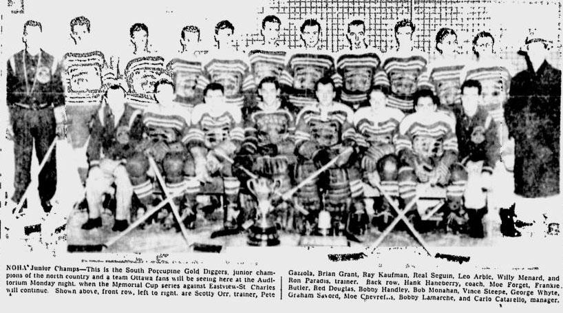 1953-54 Northern Ontario Junior Playoffs