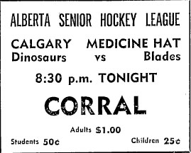 1967-68 Alberta Senior Playoffs