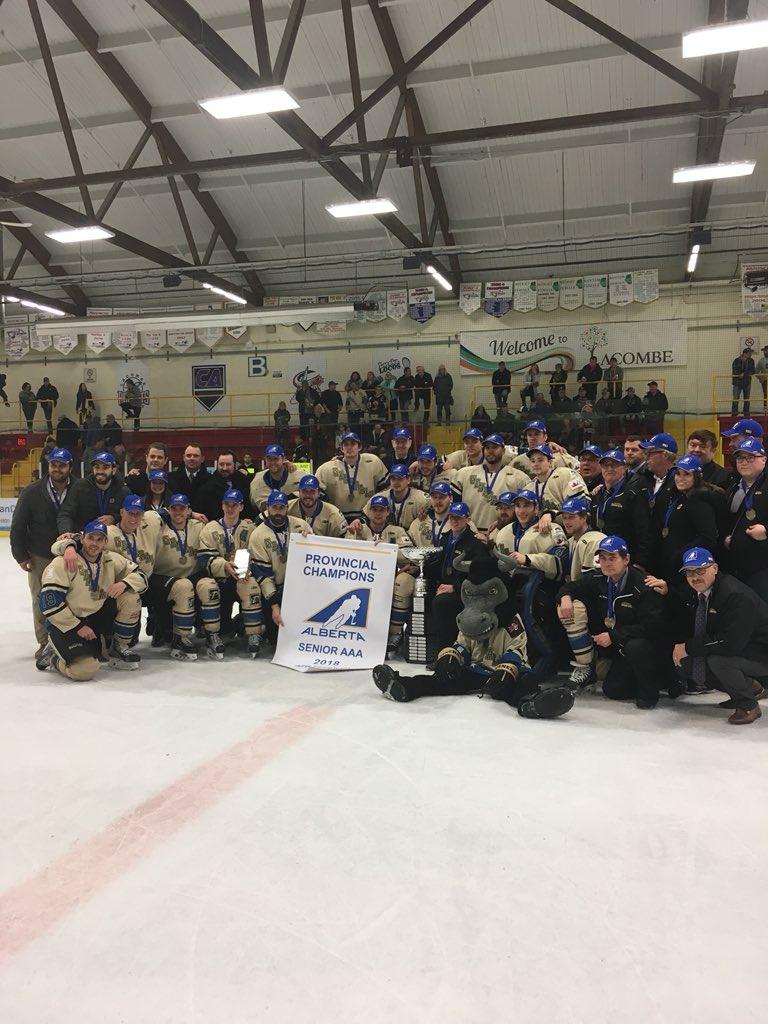 2018 Alberta Senior AAA Playoffs