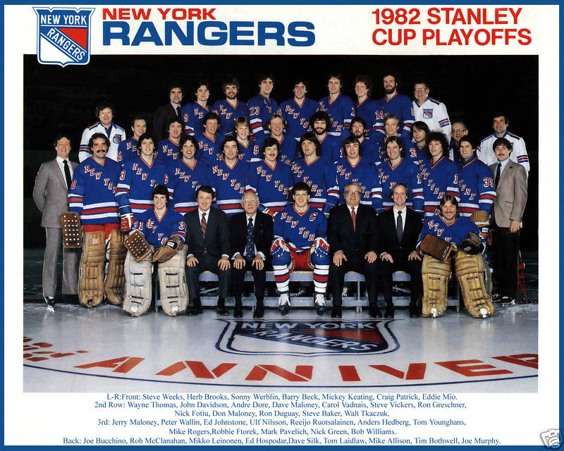 1981–82 New York Rangers season