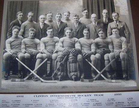 1932-33 OHA Intermediate Groups