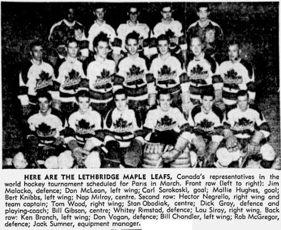 1950-51 Lethbridge Maple Leafs