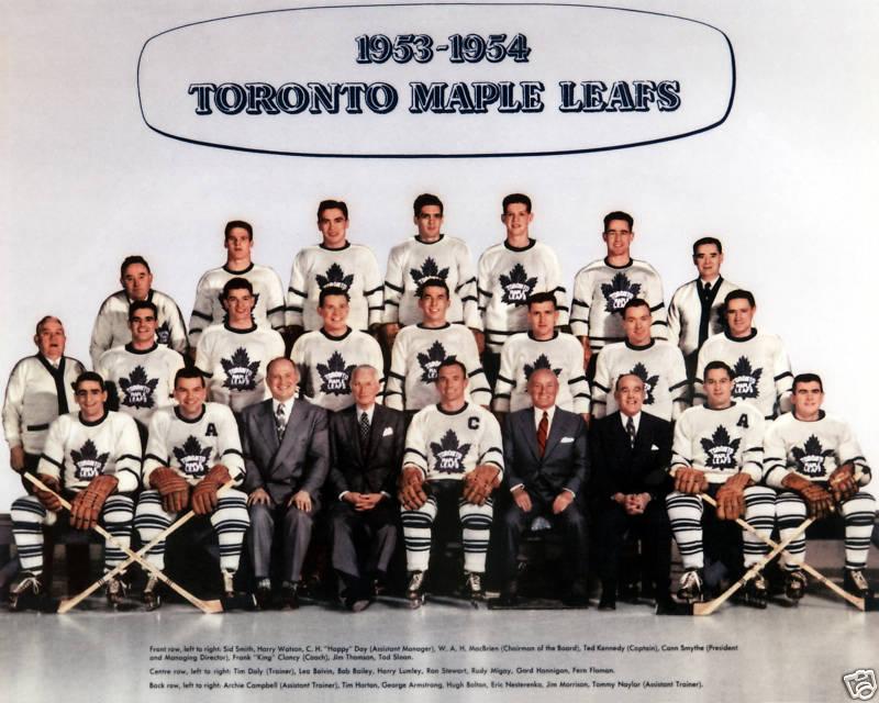 1953–54 Toronto Maple Leafs season