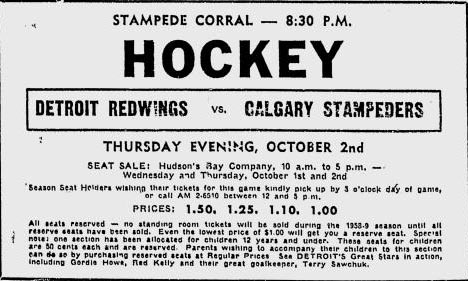 1958–59 Detroit Red Wings season