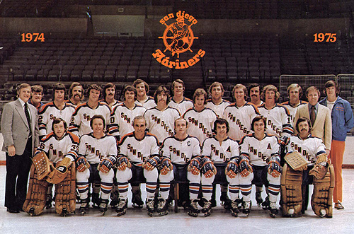 1974–75 San Diego Mariners season