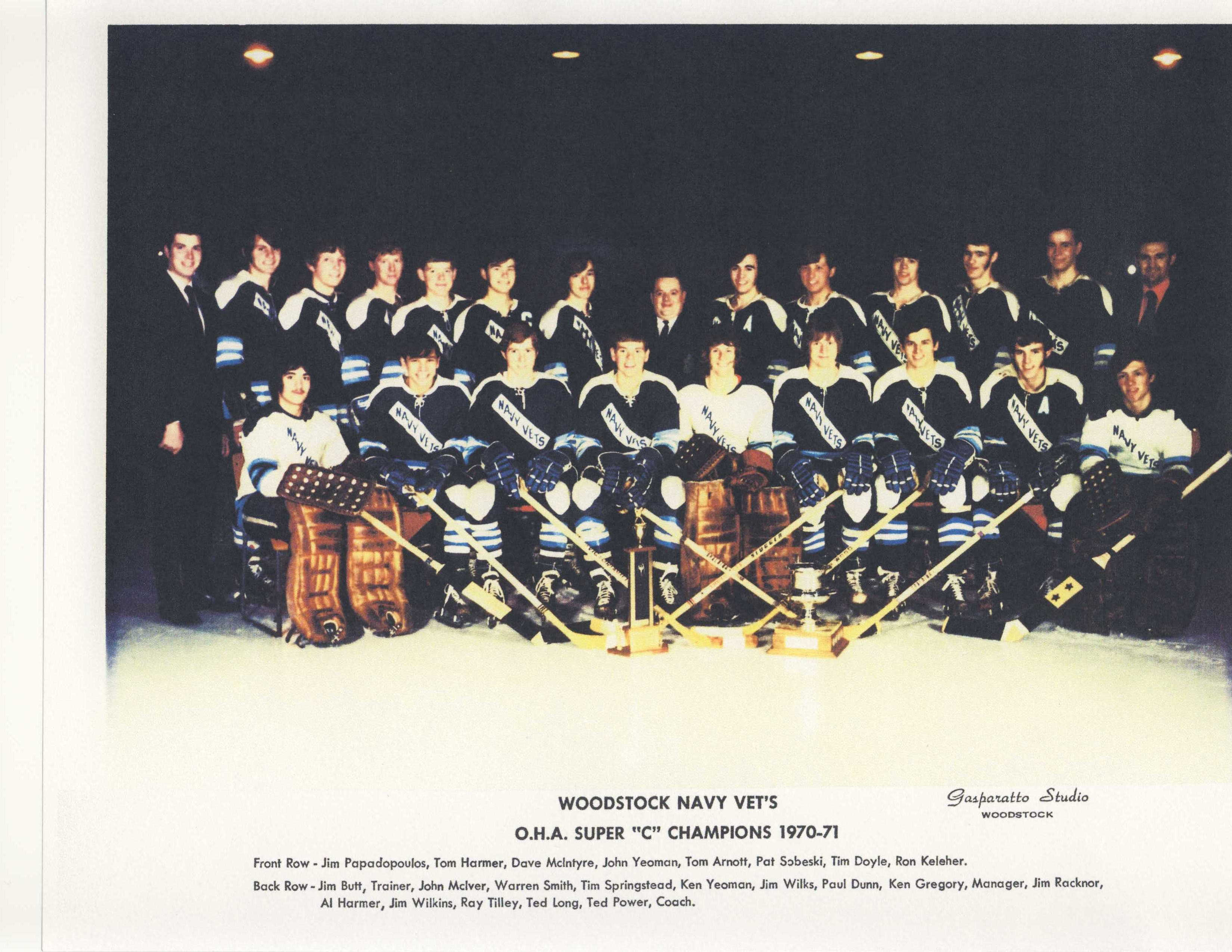 1970-71 OHA Super Junior C Season