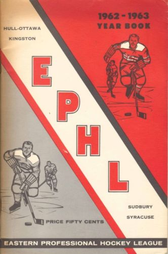 1962-63 EPHL Season