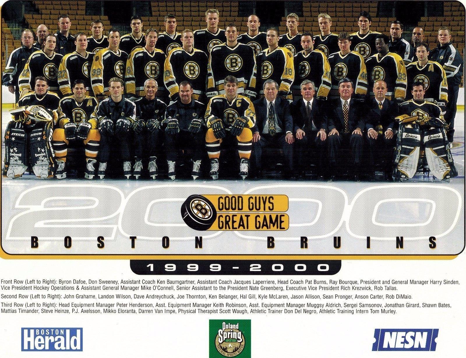 1999–2000 Boston Bruins season