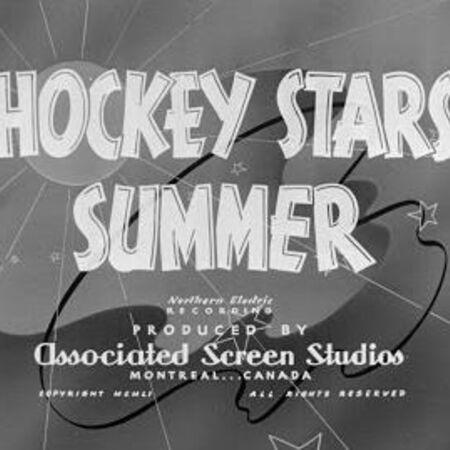 Canadian Cameo, Hockey Stars' Summer (1951)