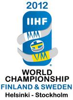 2012 IIHF World Championship official logo