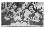 Richard Kromm, Brett Hull, Paul Buchanan