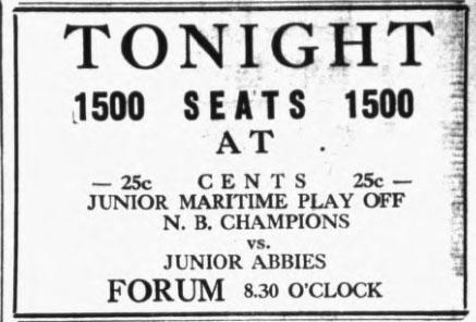 1933-34 Maritimes Junior Playoffs