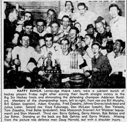 1960-61 ABSHL Season