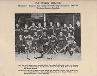 1950-51 Dauphin Kings MB Champions 1