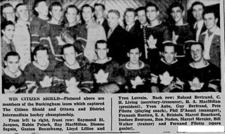 1944-45 Ottawa District Senior Playoffs