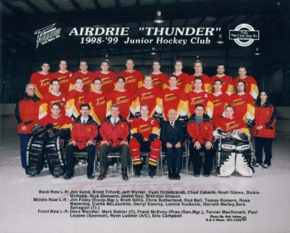 1998-99 HJBHL Season