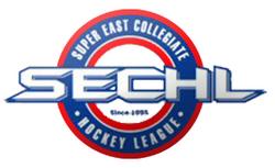 Super East Collegiate Hockey League (SECHL) logo
