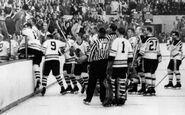23Oct1960-Litzenberger goes after fan