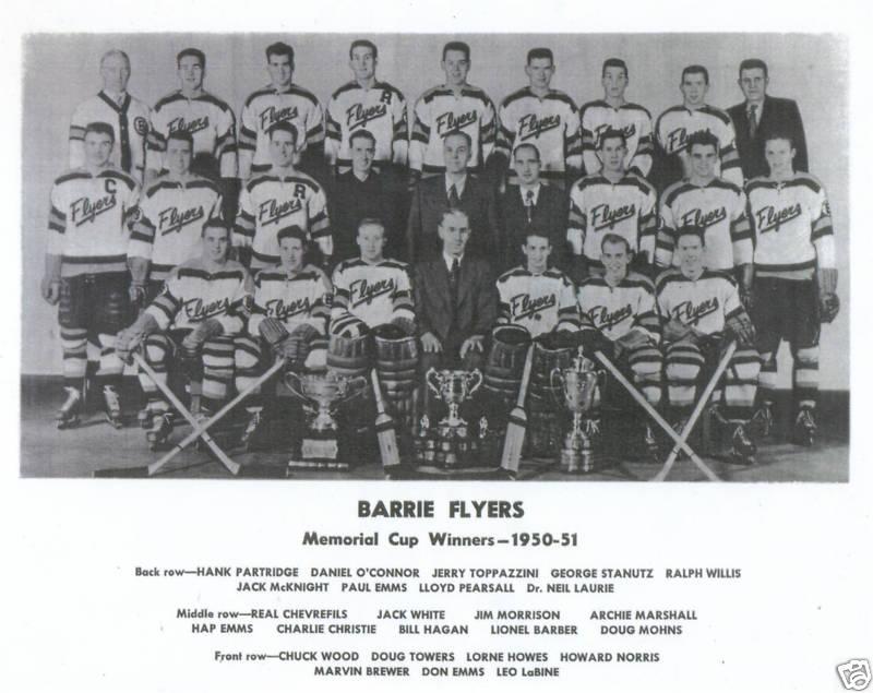 1950-51 Memorial Cup Final