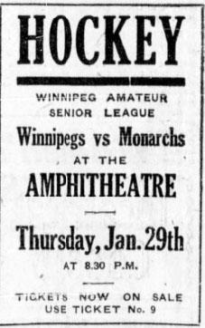 1919-20 Winnipeg Senior Hockey League Season