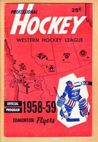 1958-59 WHL (minor pro) Season