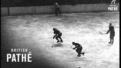 An Ice Hockey Battle (1934)