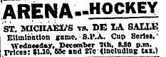 1921 SPA Junior Tournament