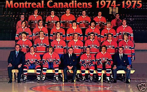 1974–75 Montreal Canadiens season