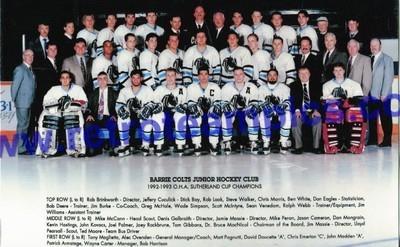 1992-93 CJAHL Season