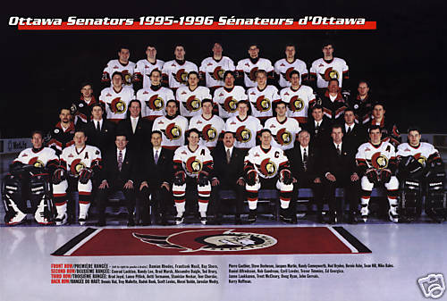 1995–96 Ottawa Senators season