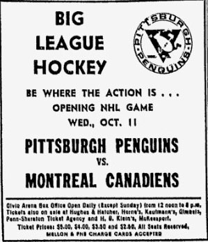 1967–68 Pittsburgh Penguins season