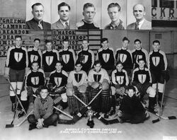 Regina Commandos Hockey Champions 1943-44