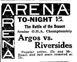 1915-16 OHA Senior Season