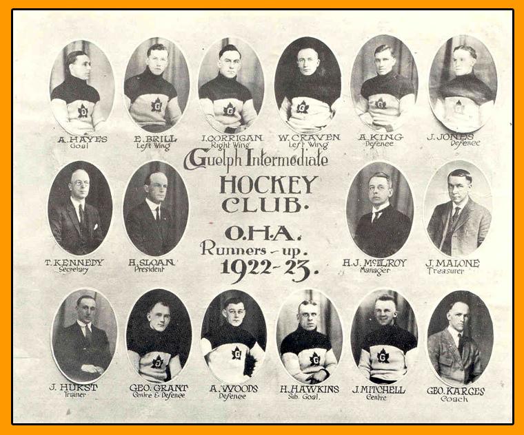 1922-23 OHA Intermediate Groups