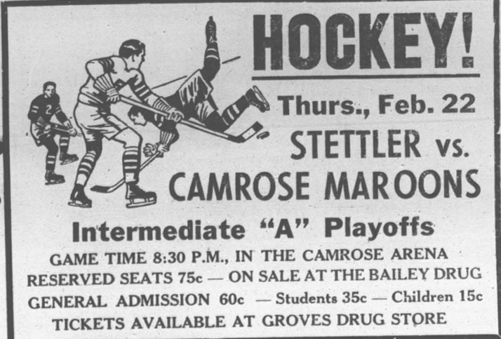 1950-51 Alberta Intermediate Playoffs