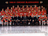 1990–91 Chicago Blackhawks season