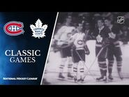 NHL Classic Games- 1967 Stanley Cup Final, Gm6- Maple Leafs vs