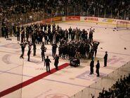 2007 Memorial Cup celebration