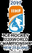 2017 World Junior Ice Hockey Championships – Division III