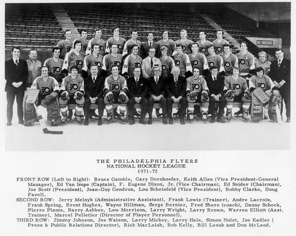 1971–72 Philadelphia Flyers season