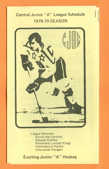 1978-79 CJHL Season