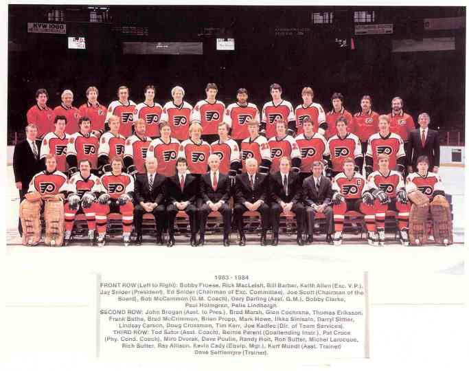 1983–84 Philadelphia Flyers season