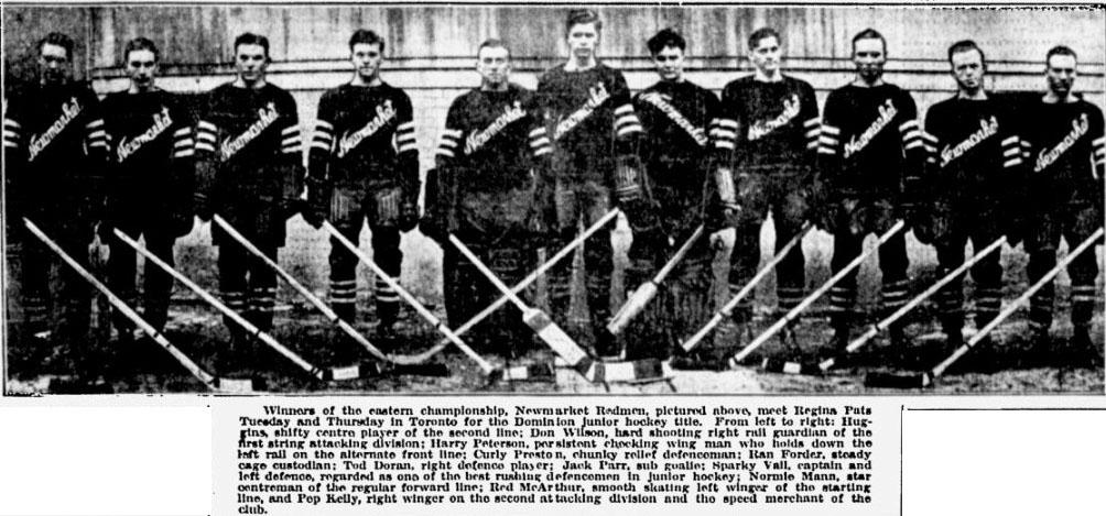 1932-33 OHA Junior Season