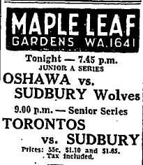 1934-35 Eastern Canada Memorial Cup Playoffs
