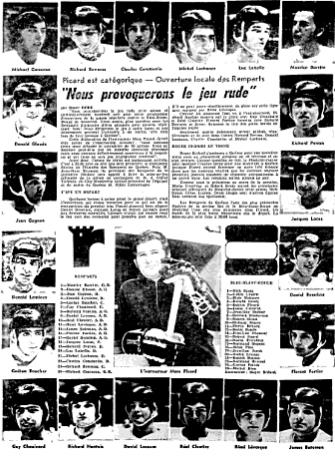 1973–74 QMJHL season