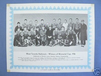 1935-36 Eastern Canada Memorial Cup Playoffs