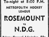 1960-61 MetMtlHL Season