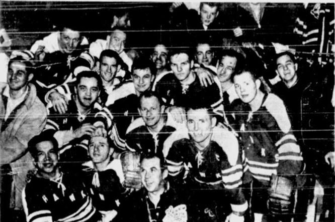 1962-63 Eastern Canada Allan Cup Playoffs