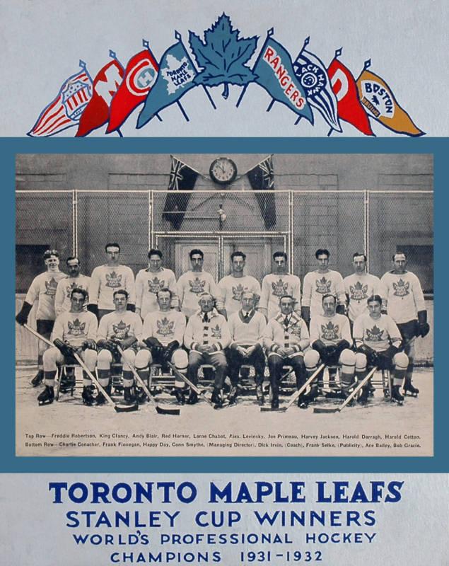 1932 Stanley Cup Finals