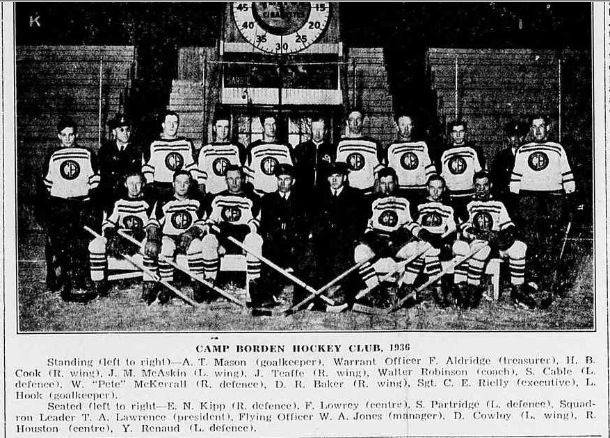 1935-36 OHA Intermediate A Groups